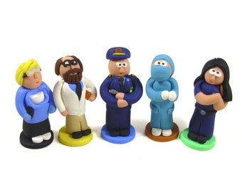Pandemic State of Emergency Role Figurines, set of 5