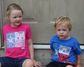 Texas Flag T's - His or Hers - Size Youth Small - READY TO SHIP