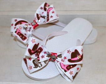 Country Mix Flip Flops
