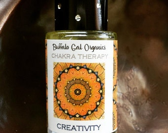 Chakra Aromatherapy Oil for CREATIVITY. Sacral / Second Chakra.