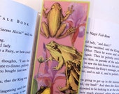 Frogs and Flowers Bookmark