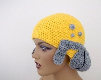 Crochet Mr. Burns Simpson Hat-crochet  Mr. Burns Simpsons wig-Halloween Costume Ideas-night costumes