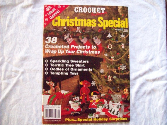 Crochet Patterns Christmas Special Crochet Fantasy Pattern Magazine ...