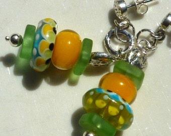 Lampwork Earrings ETERNAL SUNSHINE