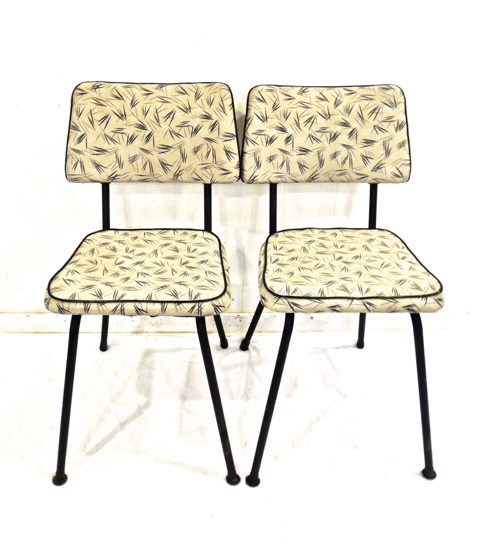 vintage kitchen chairs 1950s 60s mesco mid century atomic