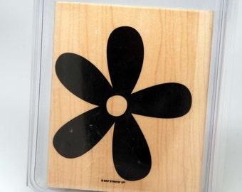 DESTASH -- Stampin Up -- Big Blossom -- Background Stamp