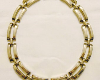 Modernist styled necklace