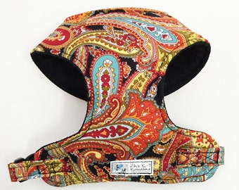 Paisley Comfort Soft Dog Harness - Made to Order -