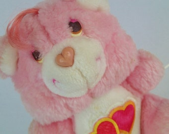 Love A Lot Bear Care Bears Mini 6 inch push Pink small teddy
