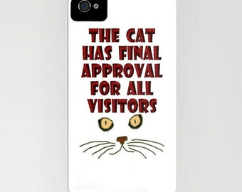 That Darned Cat - In Charge! Even Zombies are my BFF. Animal Magnetism is so great, phone skin for fun.