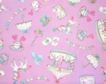 Merry-go-round Stripe Lolita  Purple 50cm, 19 length