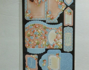Graphic 45 Precious Memories Cardstock Tags and Pockets