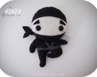 Cute Ninja Plush Toy