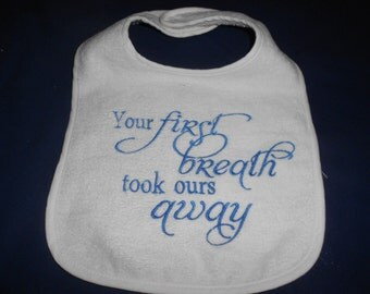 Your First Breath Bib