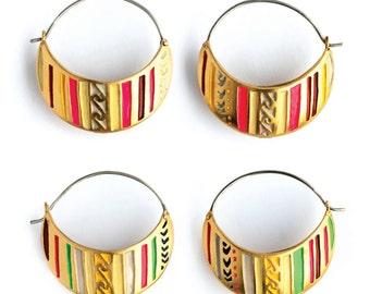 Cusco  Hoop Earrings