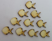 Fish - Use for earring stud - EAR039