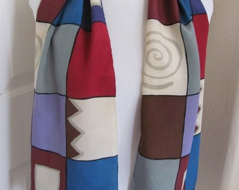 ECHO Ladies Colorful So Soft Silk Scarf - 11 x 52 Long - Best of the Best