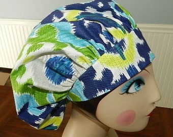 Sea Breeze   Banded Bouffant Surgical Cap