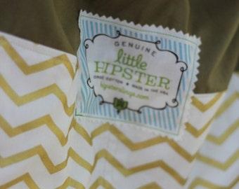 Organic Baby Sling w Zipper Pocket