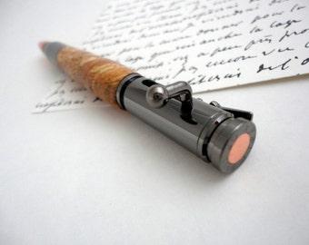 Cool Click Pen with 30 caliber bullet tip