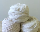 Natural cream chiffon silk full skein
