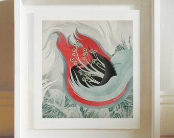 Strange Flora - Archival Giclee Print by Eoin Ryan