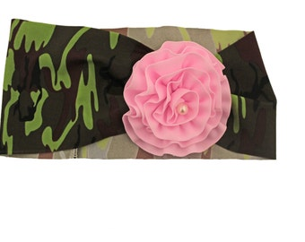 SUMMER 2015 CLEARANCE!!! Camo Swim Headband