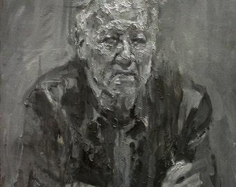 Herzog II, Original Oil Painting