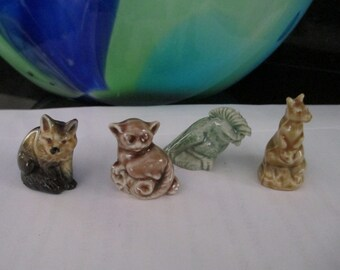 Wade Figurines Total of Four by Gatormom13