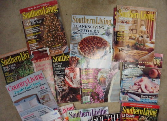 southern living magazines lot of 24 plus 2 extra magazines southern