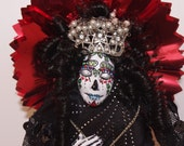 Day of the Dead Trinket Lady of Vanity