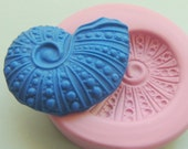Spiral Sea Shell Mold Silicone Fondant Mold Clay Candy Resin Mold