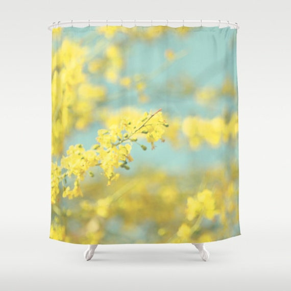 Art Shower Curtain Sunny Blooms 2 Fine Art By