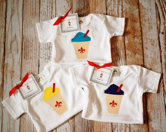 sNOLAball BABY Onesie or T-Shirt in Your Choice of Snowball Flavor