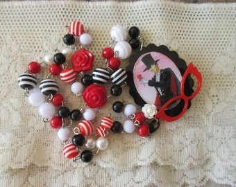 Sailor Moon Necklace - TUXEDO MASK - Anime necklace