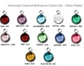 Add on Swarovski Charm - Silver