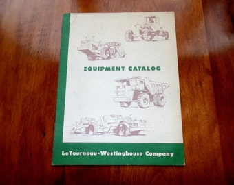 WABCO EQUIPMENT CATALOG vintage heavy equipment construction 1950s 1960s