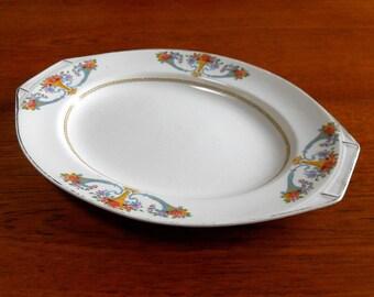 J&G Meakin Sol Ware Plate or Sandwich platter - Art Nouveau 20s 30s