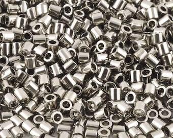 Seed Beads-1.8mm Treasure-711 Nickel-Toho-7 Grams