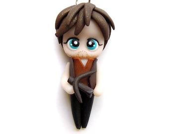 SPECIAL SALE - Daryl - Miniature Sculpture - Charm Figurine