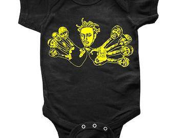 WU TANG CLAN Wu Hands Baby Onesie or Toddler Tee -  On Sale!