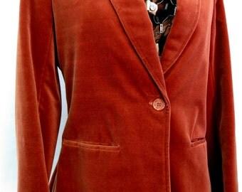 Vintage 70s Velvet Tailored Jacket