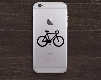 Bicycle Vinyl iPhone Decal BAS-0112