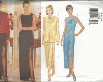 Butterick 5309 Evening Dress Pattern SZ 12-16