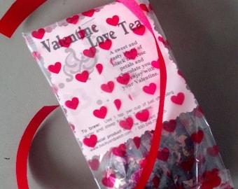 Lover's Valentine Black Tea Blend - chocolate, tea, rose