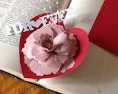 Paper Flower Wedding Decor Set of 4