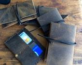 Beck passport holder / ID holder & passport / wallet / leather / travel / passport cover / travel wallet / travel gift