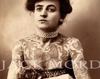 INSTANT DOWNLOAD // Tattooed Lady