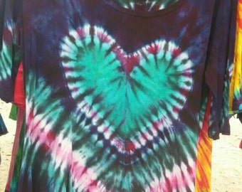 Tie Dyed Womens blouse.