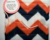 Marble Maze Game Bright Orange Chevron maze pattern 4 sensory occupational therapy